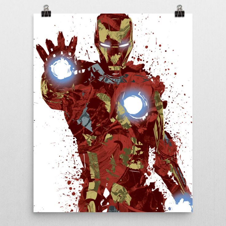 Civil War Iron Man Poster