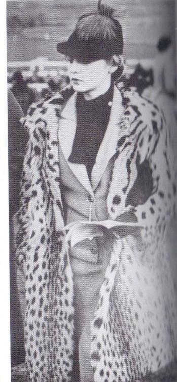 Deborah Mitford, Duchess of Devonshire, looking supremely fierce.