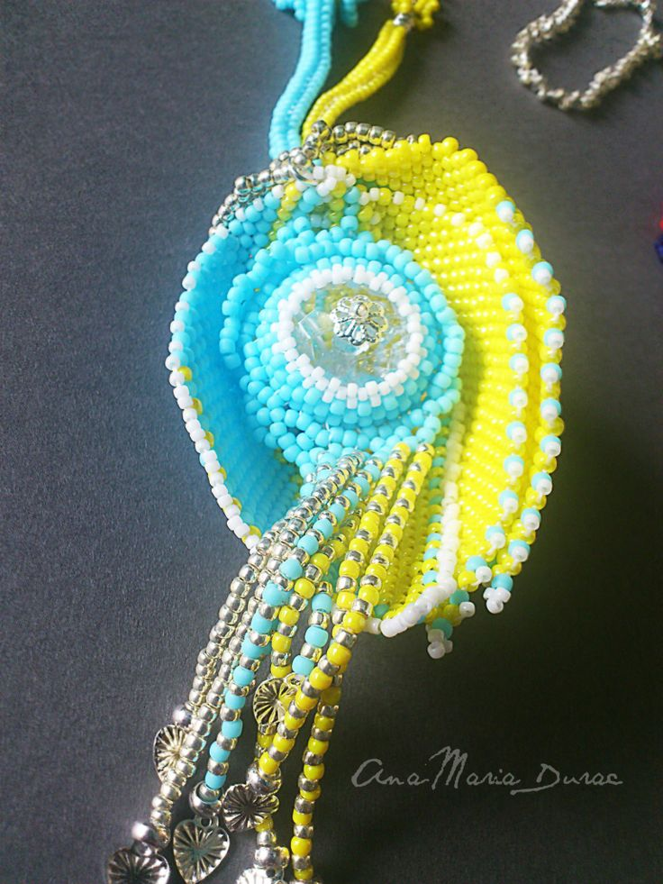 Summer Necklace- detail