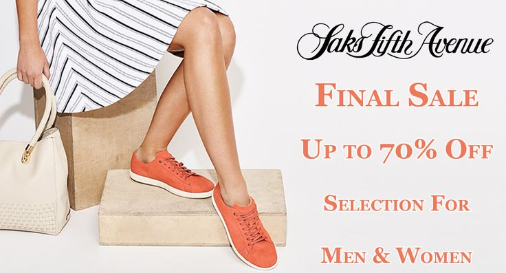 Final Sale Up to 70% Off Selection For Men & Women's at #Saksfifthavenue #Clothing #Shopping #Dresses #Fashion #Styles