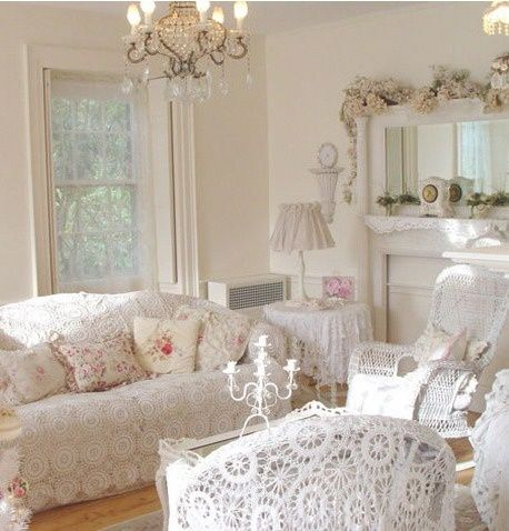Shabby Chic ● living room