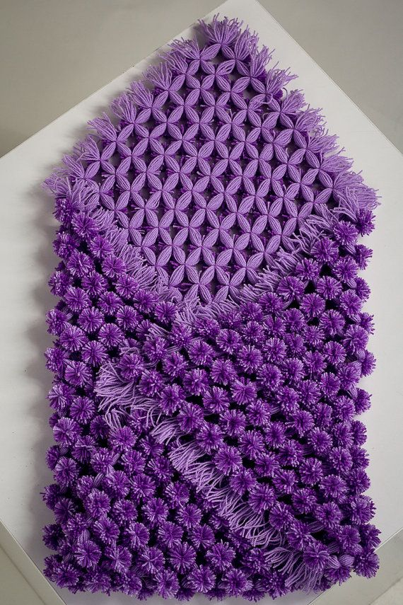 Home&Living, Bedding, Blankets&Throws, Pom Pom Blanket, Knitted Baby Blanket, Nursery Ideas, Purple Baby Bedding, Unique Shower Gift, Car Seat