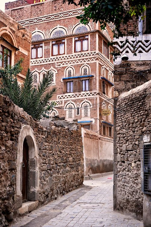 Old Sana'a - Yemen,  Go there once, it will call to you forever after.