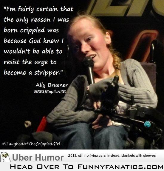 Love her sense of humor!