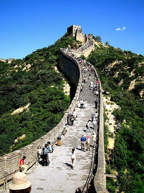 世界遺産 万里の長城 中国の絶景写真画像  中国