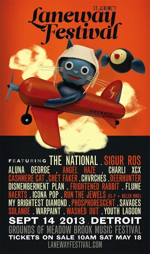 Laneway Festival Detroit - September 2013