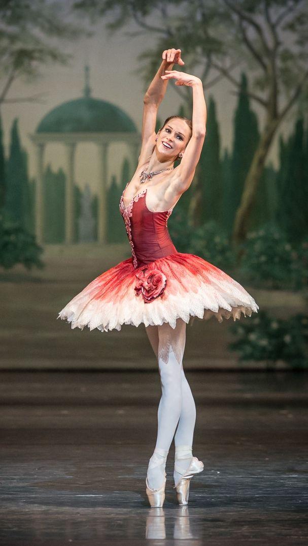 """ Polina Semionova in The Nutcracker, Bayerische Staatsoper, January 18, 2014. Photograph by Jack Devant."