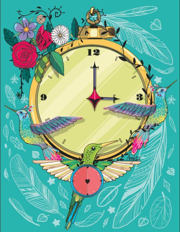 El tiempo va volando