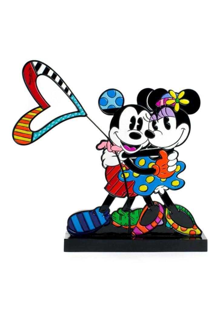 Romero Britto Love Mickey & Minnie♥≻★≺♥