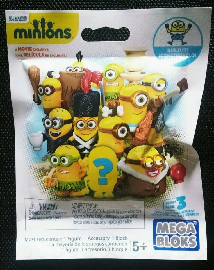 Mega Bloks Buildable Despicable Me Minions Movie Exclusive Blind Bag Packs Series 3 - x30 Sealed - #CNF46