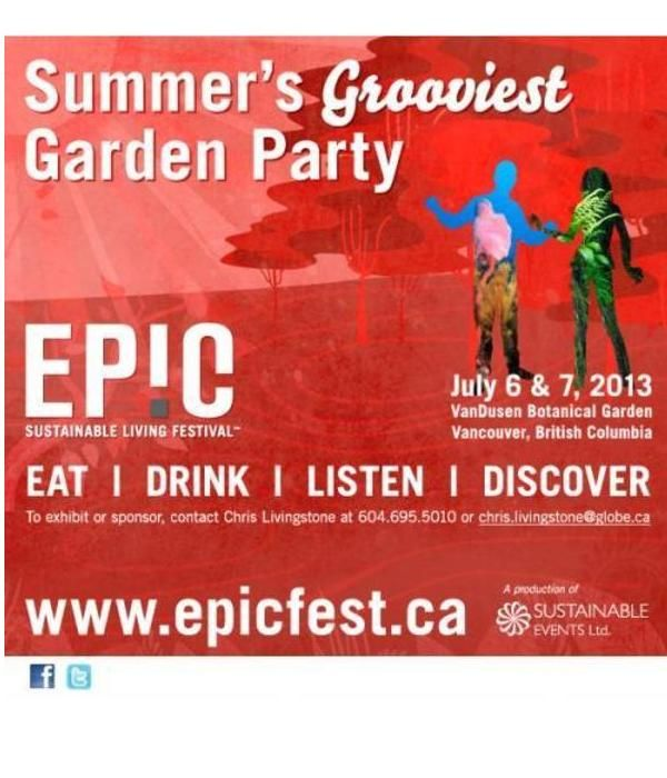 EPIC Sustainable Living Festival - Summer's Grooviest Garden Party