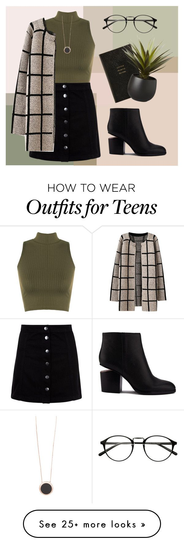 """white teeth teens"" by sam-ashkani on Polyvore featuring мода, WearAll, Chicnova Fashion, Alexander Wang, Kate Spade, Smythson и CB2"