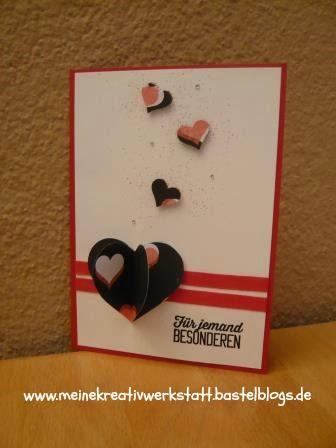 Stampin Up, Valentinskarte