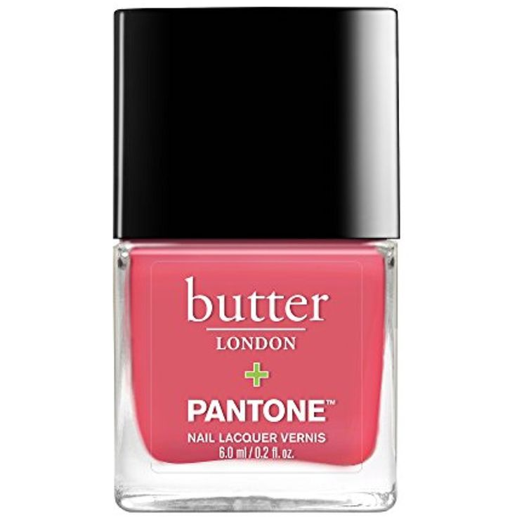 butter LONDON Pantone Color of the Year Lacquer, Calypso Coral, 0.2 fl. oz. -- Learn more by visiting the image link. (This is an affiliate link and I receive a commission for the sales)