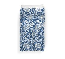 Indigo and White William Morris Pattern Duvet Cover
