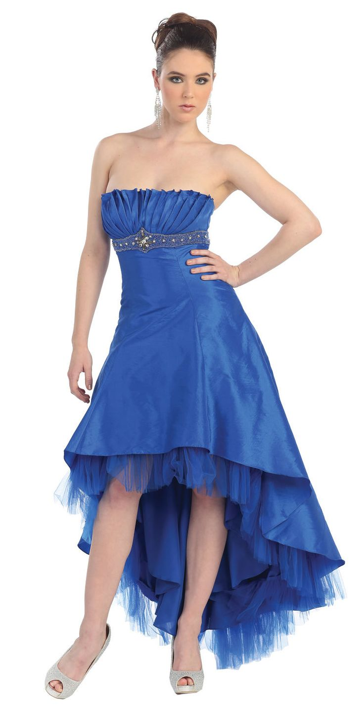 Awesome Awesome TheDressOutlet Dress Strapless Taffeta Pleated Bodice Plus Size Prom Gown  Cool
