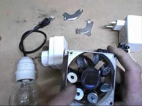 regardez comment il a fait une petite éoliennes produisant de l'électricité - YouTube