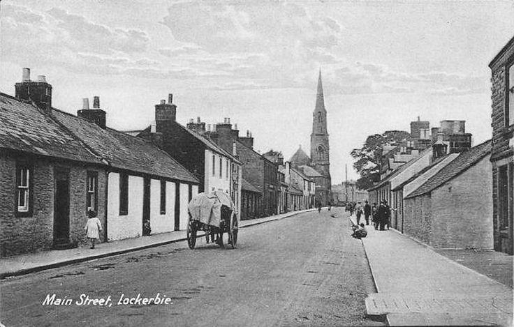 Main Street, Lockerbie - 1908