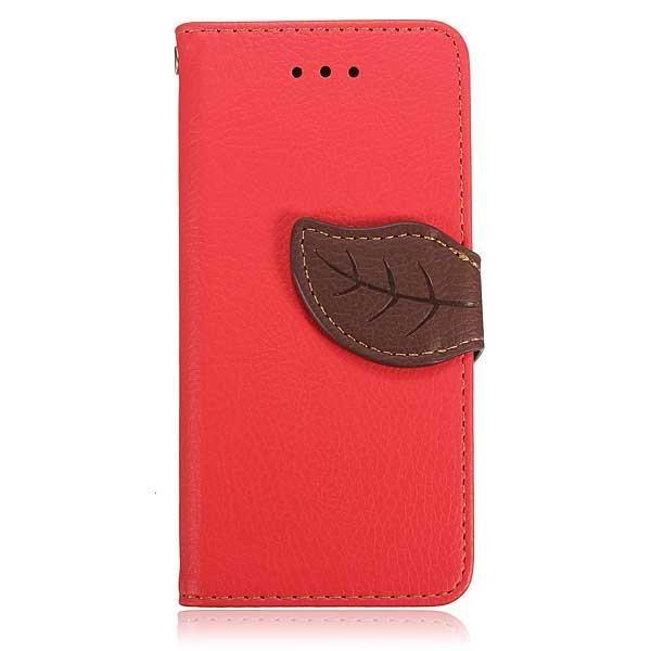 FoneBitz - Leaf detail wallet case for iPhone 5/5s