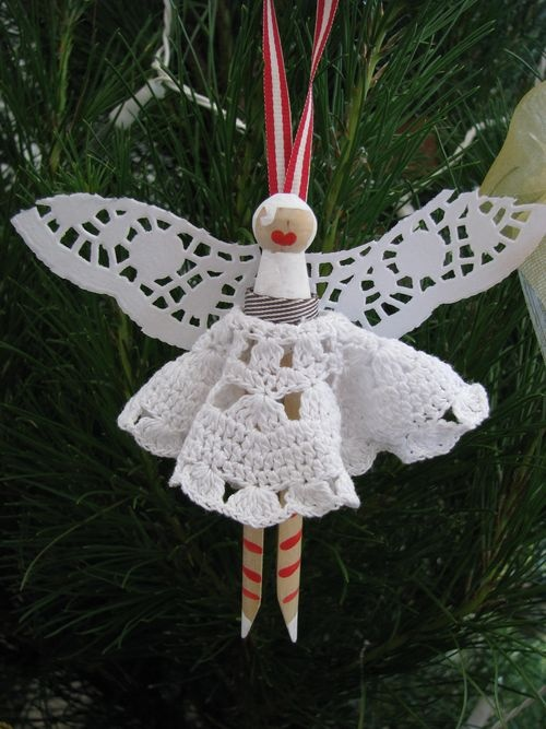How To Make Christmas Fairy Peg Dolls For Your Xmas Tree