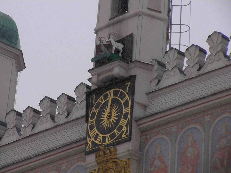 Poznan    Goat Clock Spectacle