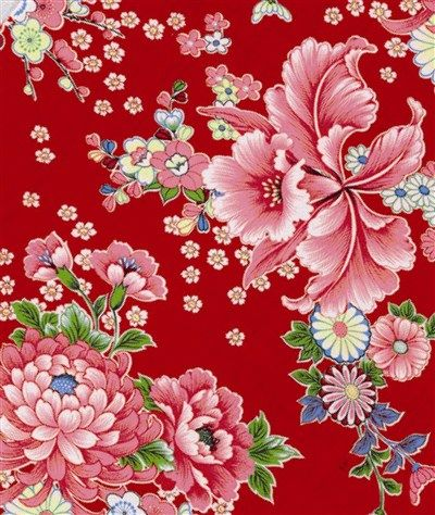 Taiwan Chintz Patterns...bright and cheery... Pinned by The Agrarian Artist.