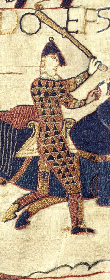Bayeux Tapestry (ahem, actually an embroidery, not a tapestry) really want to have a go at this style.