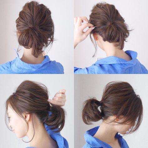 いいね!1,829件、コメント97件 ― SAYUさん(@sayu_213)のInstagramアカウント: 「無造作hair☺︎︎波波ver. . . 頭の面の部分の髪の毛をストレートアイロンで軽く#波波ウェーブ させるとより無造作感がでますバージョン◡̈ . . 右上画…」