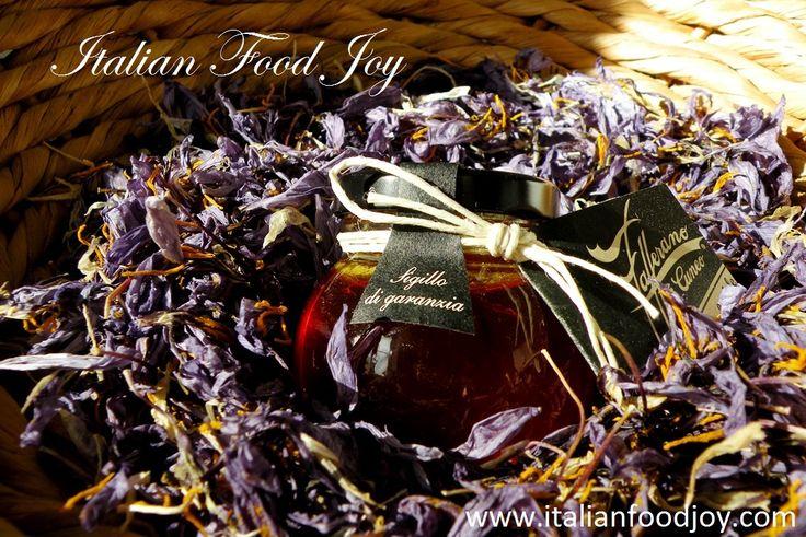 Precious #Saffron #Honey  Just for a few, a jewel. www.italianfoodjo... for UK and other countries www.italianfoodjo... for DE and AT only
