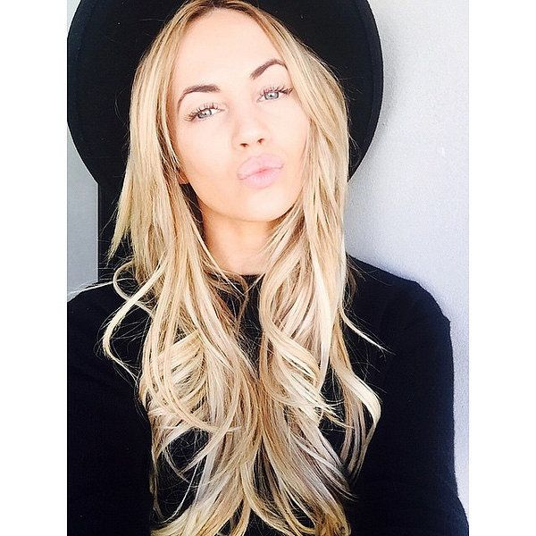 """""""I use a product called Olaplex, especially now that I am blonde. I need to make sure my hair still looks healthy and shiny. Olaplex is a saviour for that."""" - Samantha Jade"""