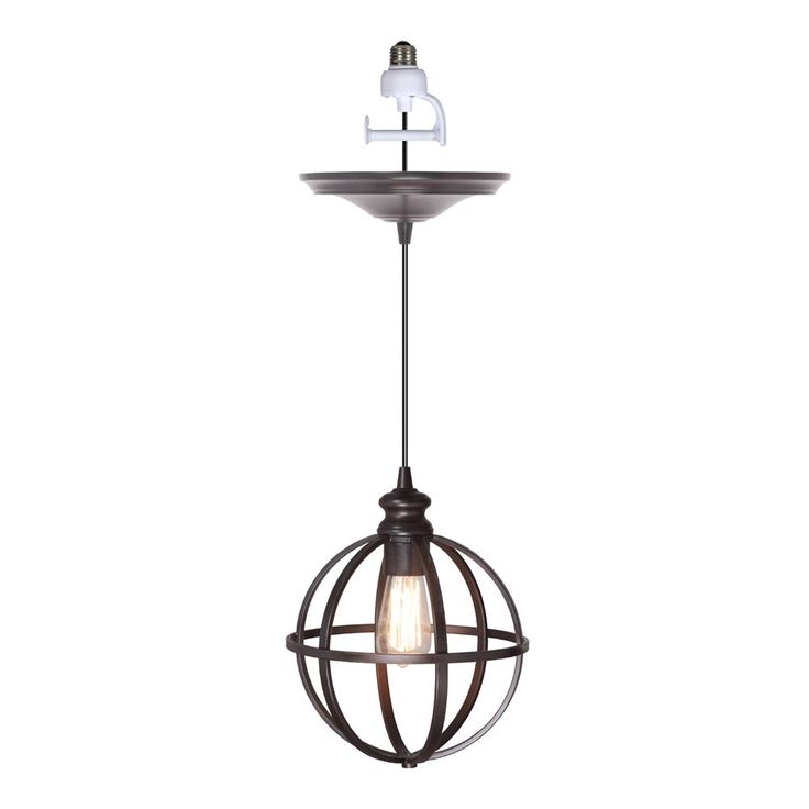 Worth Home Products PBN-4034-0011 Instant Pendant Light and Cage Shade | ATG Stores ($50)