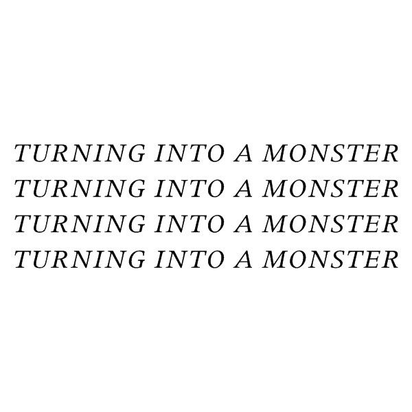 I'll stop the whole world from turning into a monster and eating us alive!... sorry, just had to break out in song