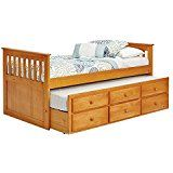 Woodcrest Pine Ridge Ethan Mission Trundle Bed - deals week