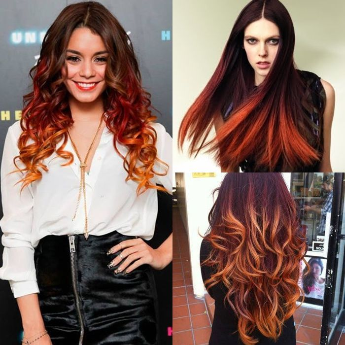 [FOTOS] MECHAS CALIFORNIANAS para PELO CORTO y media melena. Colores como mechas californianas ROJAS, azules. PASO A PASO de mechas californianas en CASA