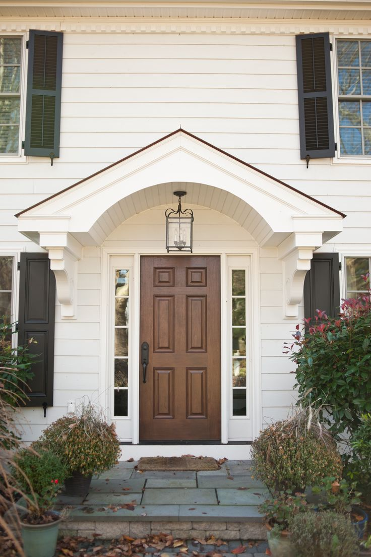 25 best ideas about portico entry on pinterest side for Exterior entryway design ideas