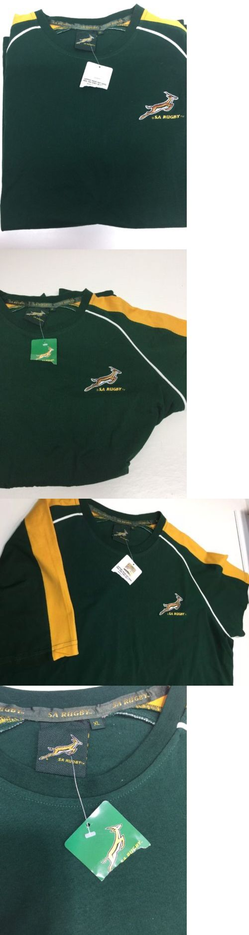 Rugby 21563: South Africa Rugby Team Tee Shirt Green Xl New Nwt -> BUY IT NOW ONLY: $45 on eBay!