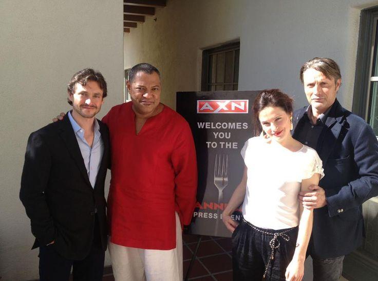 Hannibal cast <3