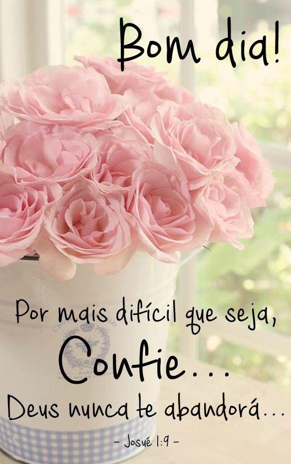 ✿⊱❥ Por mais difícil que seja, confie... Deus nunca te abandonará!...