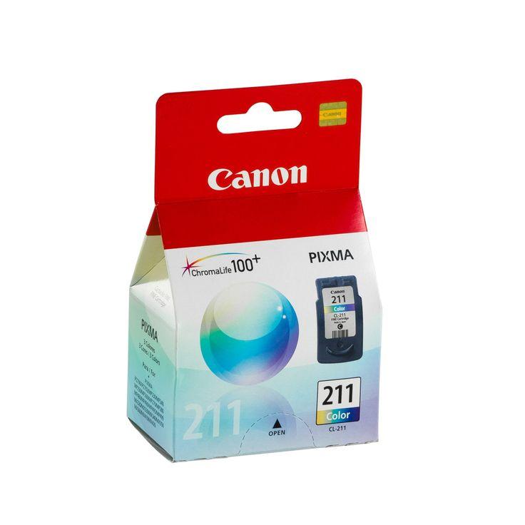 TINTA CANON CL-211 COLOR (9ML) | Platino