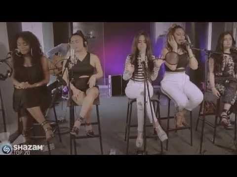 SHAZAM TOP 20 - Fifth Harmony Cover Sam Smith's Latch - YouTube