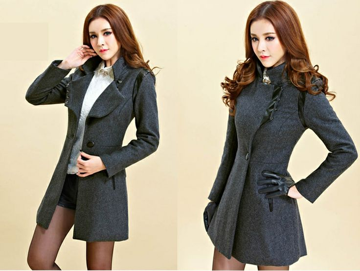 1000  images about women wool coat for winter on Pinterest | Coats