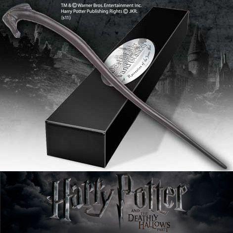 Harry Potter - Bacchetta Magica dei Mangiamorte (Stallion) http://www.coltelleriacollini.it/harry-potter-bacchetta-magica-dei-mangiamorte-stallion-3828/