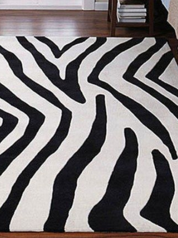 The 25 best zebra print rug ideas on pinterest the for Zebra print bedroom designs