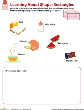 Getting Into Shapes Worksheet Cc 15 - Worksheets