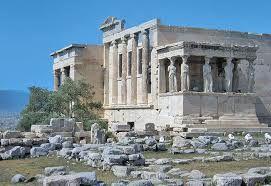 Eretteo, Philokles, 421 - 404, marmo, prostilo. Prende il nome da Erittonio, re di Atene, nato dall'unione di Efaistos con la terra. Il bambino aveva una coda di serpente.