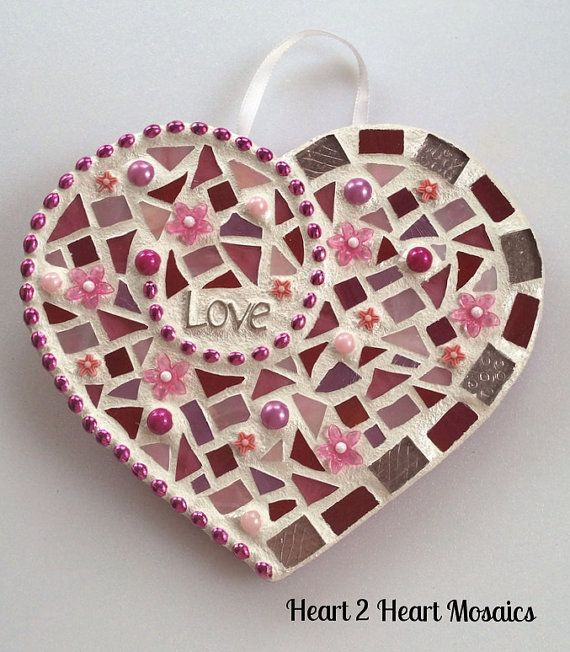 All You Need Is Love Mosaic by Heart2HeartMosaics on Etsy