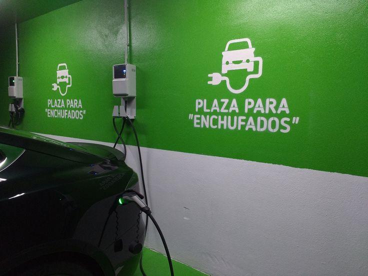 Puntos de carga vehículo eléctrico H2O Rivas   Motor