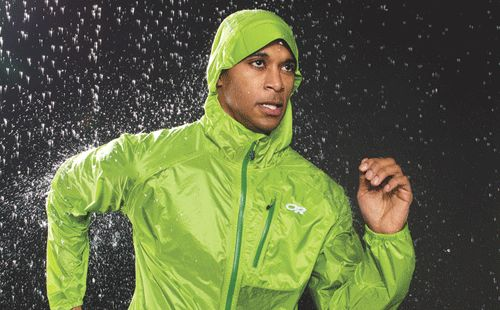 We tested nine running rain jackets for weight, durability and repellency. See which one rated best. http://ow.ly/abkM7