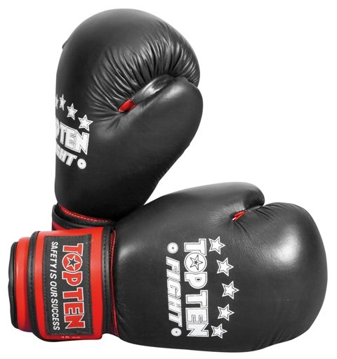 Top Ten 10oz Fight Boxing Gloves -WAKO approved