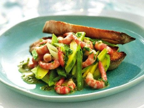 Räkmacka med avokado och nobisdressing – Allt om Mat